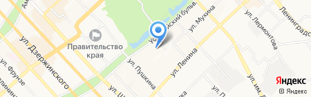 Торгово-сервисная фирма на карте Хабаровска