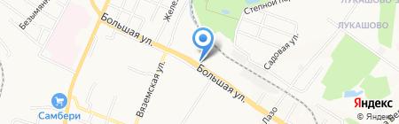 Колор Авто на карте Хабаровска
