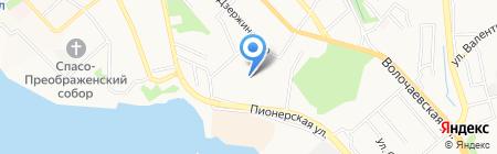 Котопес на карте Хабаровска