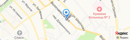 Честер на карте Хабаровска