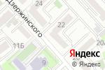 Схема проезда до компании Изотоп в Хабаровске