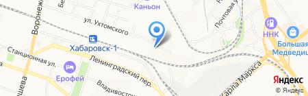 BOSCH на карте Хабаровска