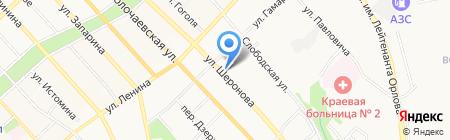 Золотые руки на карте Хабаровска