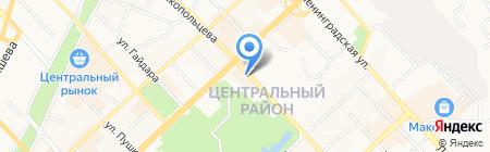 Народная аптека на карте Хабаровска
