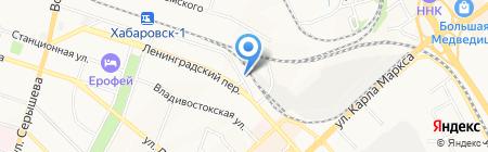 ТОР на карте Хабаровска