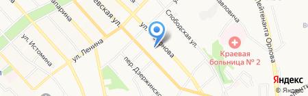 Лакки на карте Хабаровска