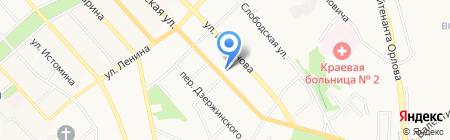 Мелодия Здоровья на карте Хабаровска