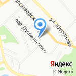 Центр имущественного права на карте Хабаровска