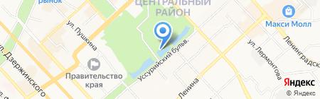 Макао на карте Хабаровска
