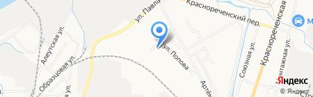 ТехПром на карте Хабаровска
