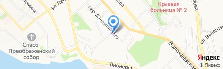 Усадьба на карте Хабаровска