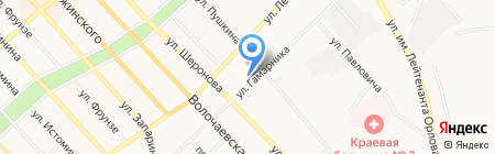 СтройДизайн на карте Хабаровска