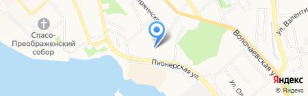 Ягодки на карте Хабаровска