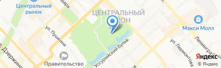 FreeДом на карте Хабаровска