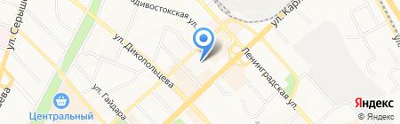 Хабкрайинвентаризация на карте Хабаровска