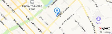 ГарД на карте Хабаровска