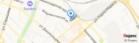 Евразийская холдинговая компания на карте Хабаровска