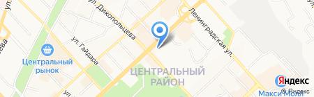 Банкомат Банк Финансовая Корпорация Открытие на карте Хабаровска