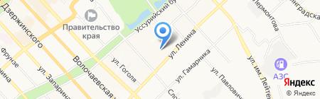 Инженерная сантехника на карте Хабаровска