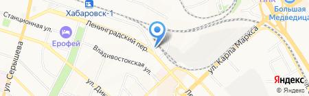 Мама плюс на карте Хабаровска