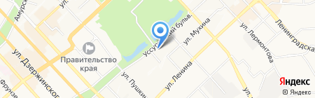 Мастер ДВ на карте Хабаровска