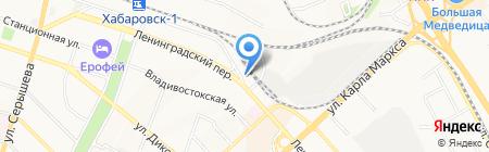 Экономь на карте Хабаровска