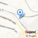 ЖелдорАльянс на карте Хабаровска