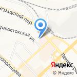 ДВТК ФРАХТ на карте Хабаровска