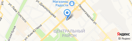 Фартоп на карте Хабаровска