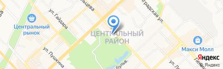 Трэйд-Сервис на карте Хабаровска