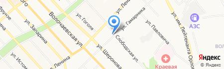 Маркиза на карте Хабаровска