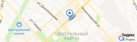 Магазин кондитерских изделий на карте Хабаровска