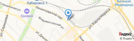 Дека-Авто на карте Хабаровска