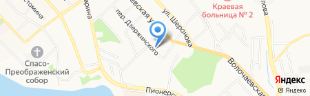 Альянс на карте Хабаровска