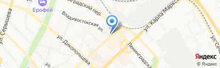 Окна де Люкс на карте Хабаровска