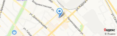 Omron на карте Хабаровска