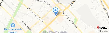 Мультяшка на карте Хабаровска