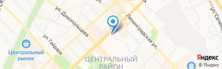 Ригма на карте Хабаровска