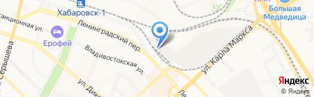 Чайная компания на карте Хабаровска