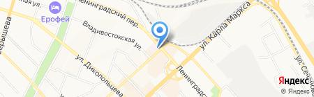 Управление муниципального заказа на карте Хабаровска