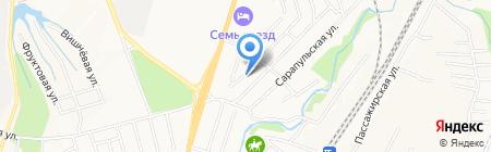 КИВ на карте Хабаровска
