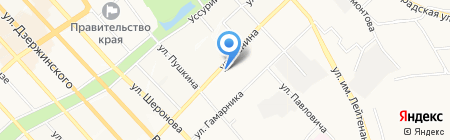 Шикарный размер на карте Хабаровска