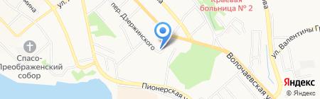 Адвокат Лянгерт А.В. на карте Хабаровска