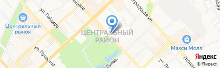 Решение на карте Хабаровска