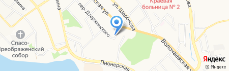 Колос на карте Хабаровска