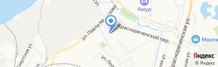 Васаби на карте Хабаровска