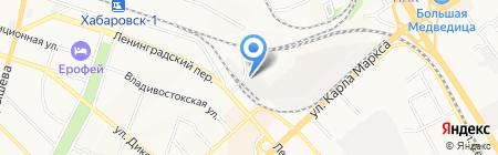 Систем-Сервис на карте Хабаровска