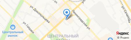 Знак Почета на карте Хабаровска