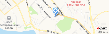 Витаминка на карте Хабаровска