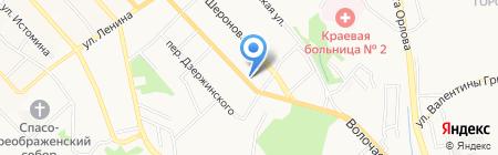 Горсвет на карте Хабаровска
